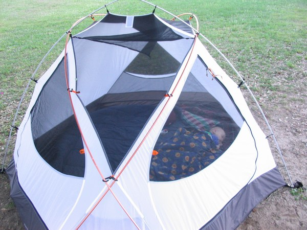 Marmot Halo 6 (acquired in 2005) I have spent 17 nights in this tent. & Many many tents......